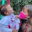 Rafaella Justus destacou a relação com a irmã Manuella: ' Amo quando você me pede se pode usar ou pegar alguma coisa minha (mesmo quando você acaba quebrando uma coisa ou outra)'