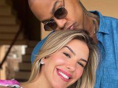 Grávida, Lorena Improta mostra rosto da filha em ultrassom: 'A cara do Léo Santana'. Veja