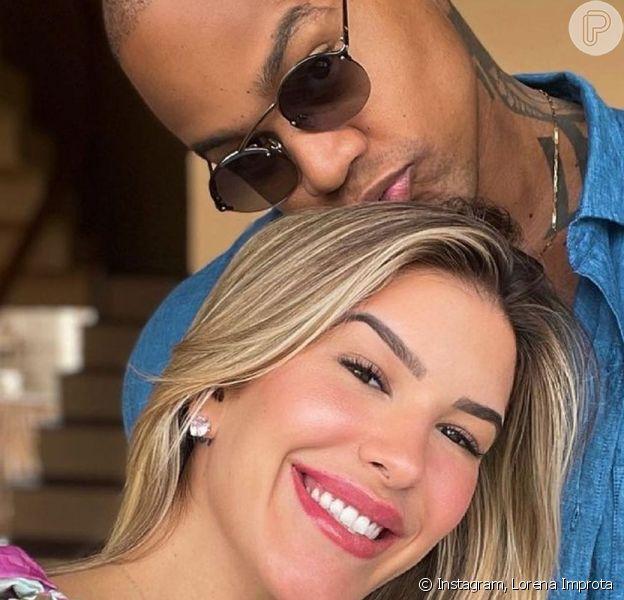 Lorena Improta mostrou uma ultrassom 4D da filha com Léo Santana