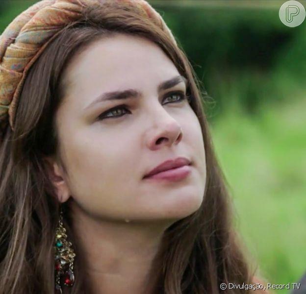 Na novela 'Gênesis', Raquel (Thais Melchior) revolta Jacó (Miguel Coelho) com proposta dele ter filhos com Bila (Allana Lopes): 'Ficou louca'?