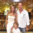 Luísa e Gilberto têm um filho juntos: Enzo