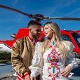 Virgínia e Zé Felipe compraram um terreno no condomínio de luxo que já moram e pretendem se mudar em breve