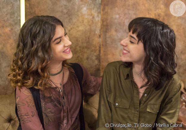 Samatha e Lica acabam juntas no fim de 'Malhação - Viva a diferença'