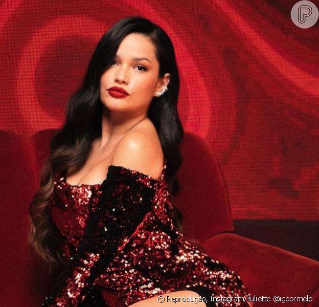 Vestido de R$ 15 mil usado por Juliette gera polêmica com estilista. Aos detalhes!