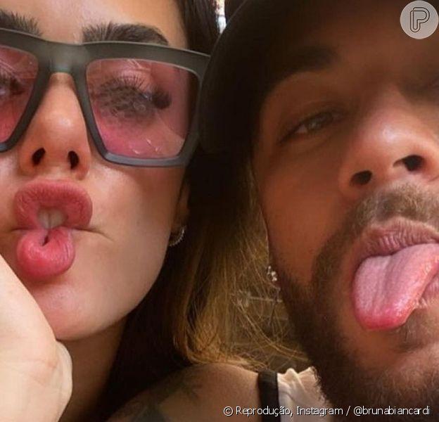Neymar tem dado sinais de que estaria apaixonado por Bruna Biancardi