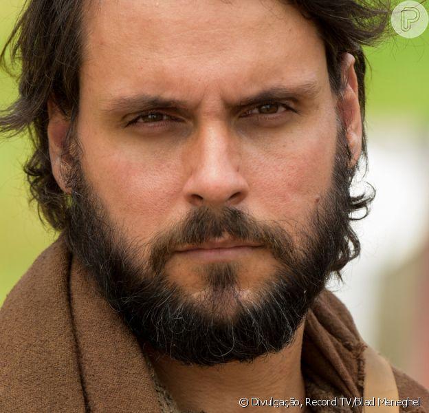 Novela 'Gênesis', Rúben (Felipe Cunha) se desespera ao descobrir que José (Juliano Laham) foi vendido pelos irmãos como escravo