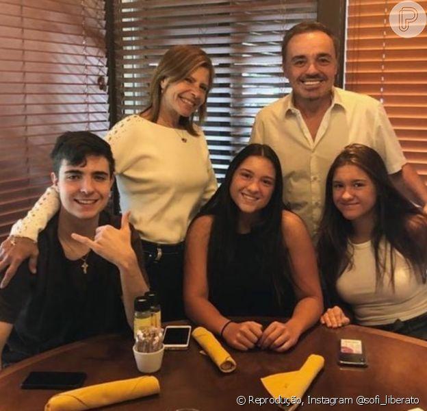 Filha de Gugu Liberato, Sofia disse que vídeo não deveria ter ido à público