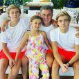 Filhos de Luciano Huck fizeram homenagem para o pai no 'Mais Você'