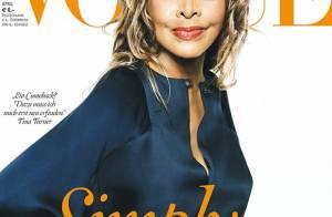 Aos 73 anos, Tina Turner posa para a capa da Vogue pela primeira vez