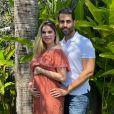 Bárbara Evans tem dado detalhes sobre a gravidez no Instagram