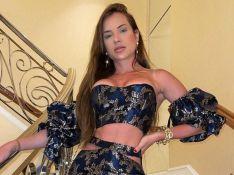 Gabi Martins usa conjunto com recorte na cintura e look provocante chama atenção. Fotos!