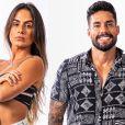 Carol Peixinho havia vivido clima de romance com Bil Araújo no 'No Limite' este ano
