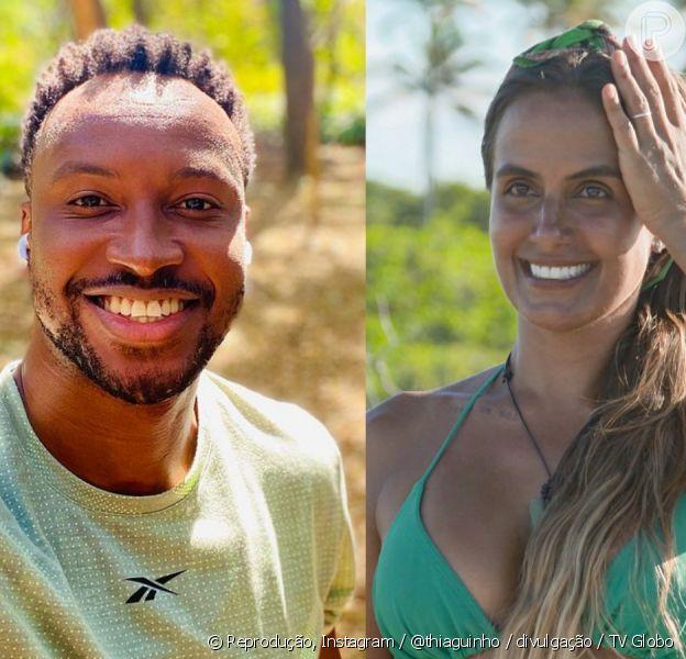 Thiaguinho e Carol Peixinho vem dando indícios de que estão vivendo affair desde agosto