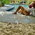 Marília Mendonça postou diversas fotos de biquíni em sua viagem ao México