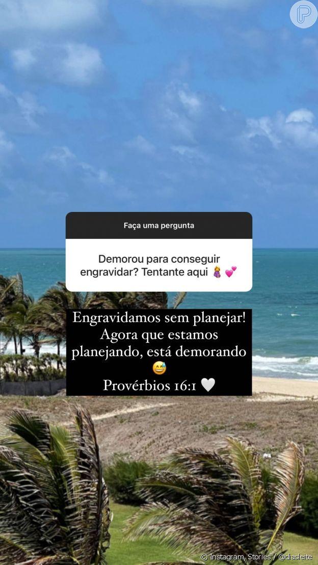 Carol Dias revela estar tentando engravidar de um menino com Kaká