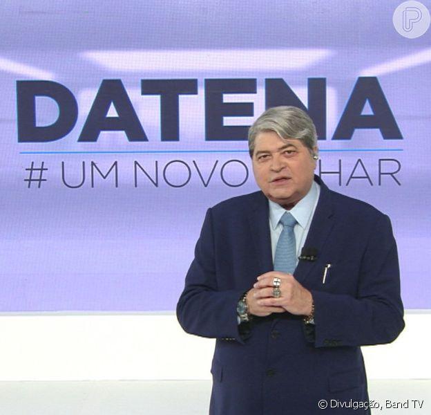 Datena sai da Band para disputar presidência em 2022