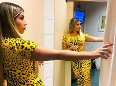 Marília Mendonça usa vestido lápis com estampa de leopardo e preço surpreende. Veja!