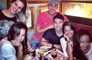 Bruna Marquezine comemora o aniversário da cunhada, irmã de Neymar