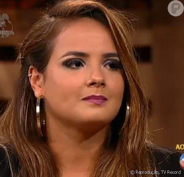 'A Fazenda': MC Brunninha foi eliminada na noite desta quinta-feira, 27 de novembro de 2014