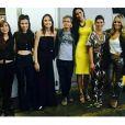 O programa 'Altas Horas' contou com convidadas mulheres e público exclusivamente masculino