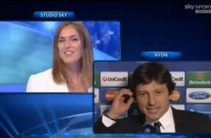 Ex-jogador Leonardo pede namorada em casamento ao vivo na TV italiana