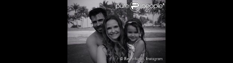 Luisa, filha da atriz Fernanda Rodrigues com Raoni Carneiro, completa 5 anos nesta quinta-feira, 11 de dezembro de 2014