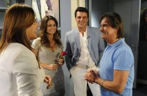 Roberto Carlos assume no 'Fantástico' que está se apaixonando: 'Estou ficando'