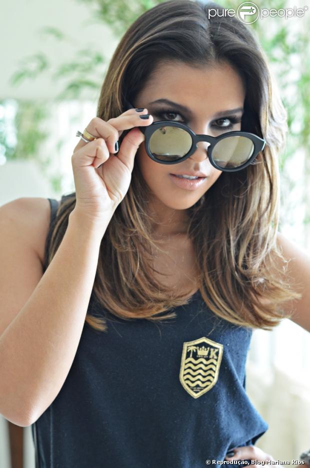 Mariana Rios fala sobre novo blog de moda. Apaixonada por tendências, ela aposta em um olhar profissional