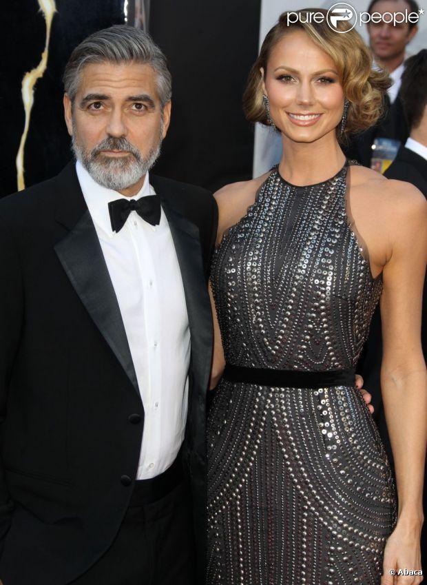 George Clooney e Stacy Keibler continuam namorando, em 19 de março de 2013