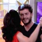 Klebber Toledo tira Fátima Bernardes para dançar durante o programa 'Encontro'