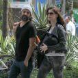 Alinne Moraes voltou às telonas com presença marcante no filme 'Tim Maia', ainda em cartaz, dirigido por Mauro Lima, seu marido