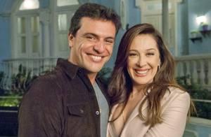 Rodrigo Lombardi defende Théo e elogia Claudia Raia: 'É um doce'