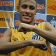 Neymar já tem várias tatuagem espalhadas pelo corpo