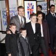 Victoria Beckham é mãe de Brooklyn, Romeo, Cruz e da pequena Harper, que não aparece na foto