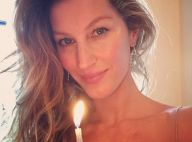 Gisele Bündchen publica foto com vela e manda mensagem: 'Atitudes positivas'