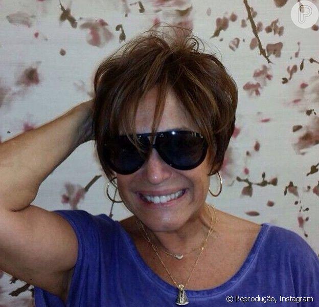 Susana Vieira adota fios curtos: 'Novo look'