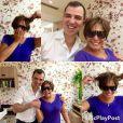 Hair stylist Marcos Aguiar mostra novo corte de Susana Vieira no Instagram. Atriz apostou abandonou os fios longos