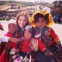 Paolla Oliveira posta fotos em intervalo de gravações de 'Amor à Vida' no Peru