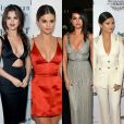 Selena Gomez tem ousado dos looks decotados. Veja algumas fotos e inspire-se nos visuais da diva teen