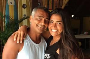 Filha de Romário sobre namoro do pai com Dixie Pratt:'Importante é a felicidade'