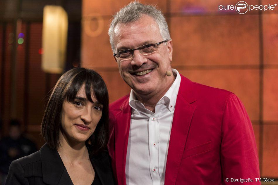 Pedro Bial fala sobre casamento com Maria Prata: 'Fui pedir a mão ao pai dela'