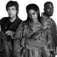 Rihanna, Paul McCartney e Kanye west lançam música juntos, em 24 de janeiro de 2015