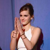 Emma Watson comemora papel de princesa em 'A Bela e a Fera':'Coração explodindo'