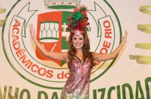 Carnaval 2016: Paloma Bernardi será rainha de bateria da Grande Rio, diz jornal