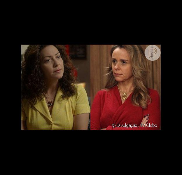 Em 'Boogie Oogie', Cristina vai ao casamento na mansão e deixa Carlota furiosa