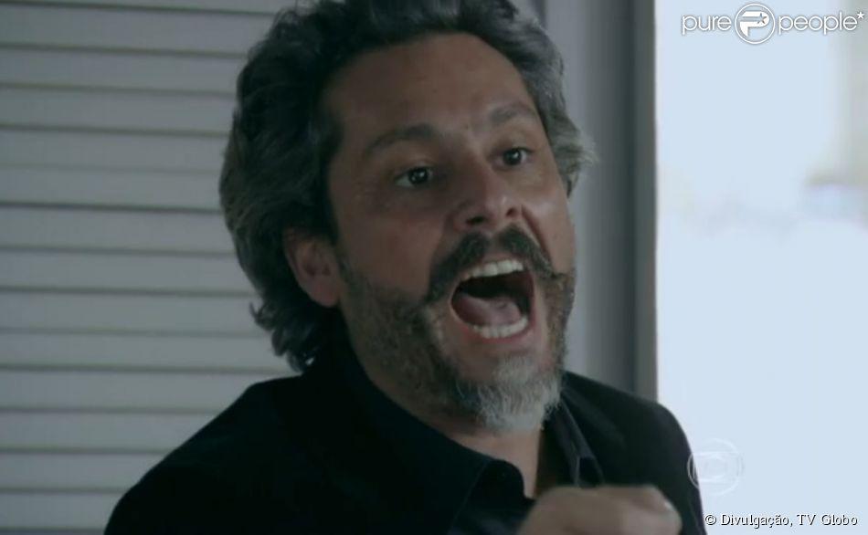 José Alfredo (Alexandre Nero) vai xingar Magnólia (Zezé Polessa) nos próximos capítulos da novela 'Império', como informou o colunista de TV Daniel Castro nesta terça-feira, 3 de fevereiro de 2015