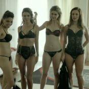 Danny Bond aparece de lingerie com prostitutas em 'Felizes Para Sempre?'