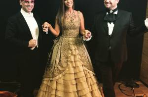 Ivete Sangalo usa vestido de R$ 46 mil no Baile da Vogue: 'Me sentindo rainha'