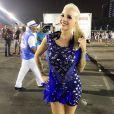 A ex-BBB Clara Aguilar estará na Nenê de Vila Matilde, última escola de São Paulo a cruzar o sambódromo no primeiro dia de desfiles