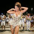 Lívia Andrade é diva de bateria da escola de samba Nenê de Vila Matilde